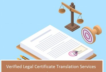Verified Legal Certificate Translation Services nearby you
