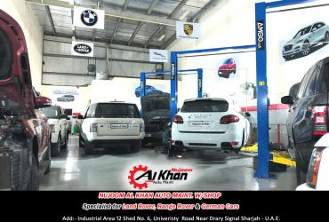 Nujoom alkhan range rover repair, maintenance ,workshop in sharjah