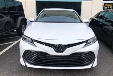 TOYOTA CAMRY 2018 IN GOOD CONDITION FOR SALE
