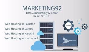 Marketing92 take care of your hosting environment.