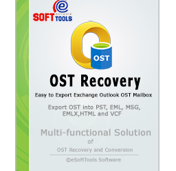 eSoftTools OST to PST converter software