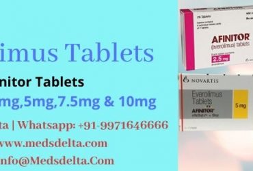 Everolimus 10mg Price China | Buy Afinitor 10mg Tablets Online | Everolimus Tablets Brands in India