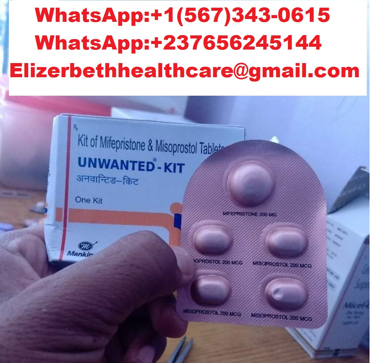 combipack of mifepristone for sell