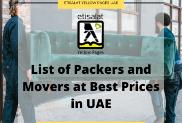 List of Packers and Movers at Best Prices in UAE
