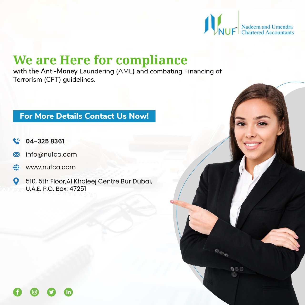 Business Consultant in Dubai – NUF Chartered Accountants LLC